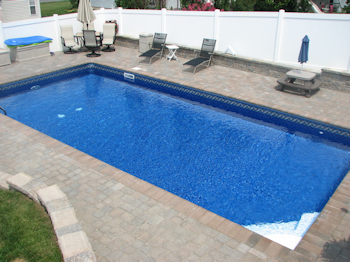 Grecian special the pool store for Vermiculite swimming pool base